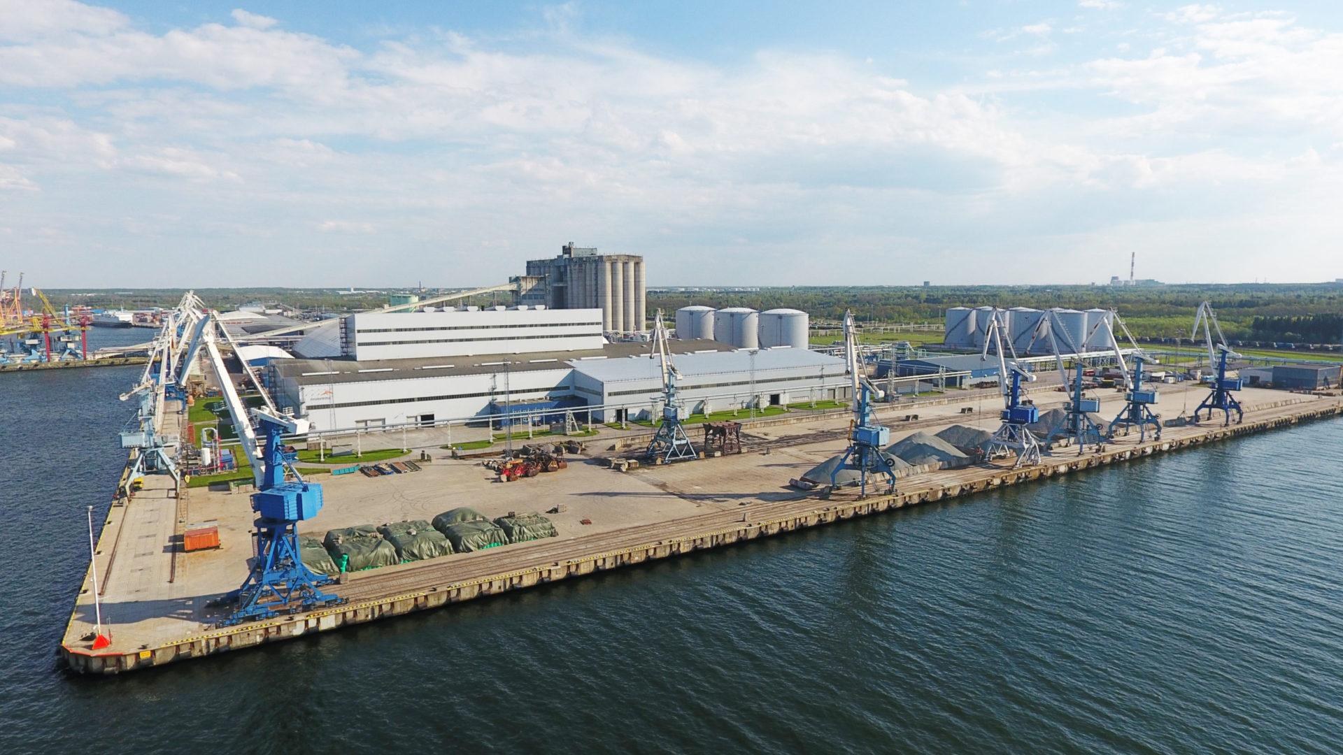 Piers 6-6A of port Muuga, Estonia