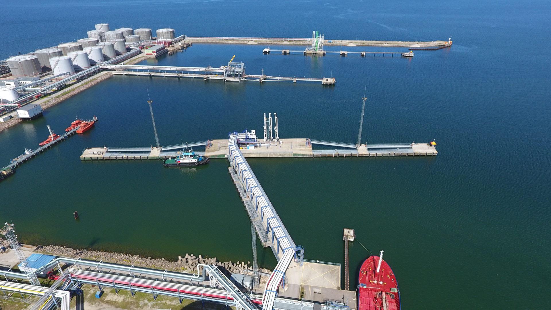Muuga port water area