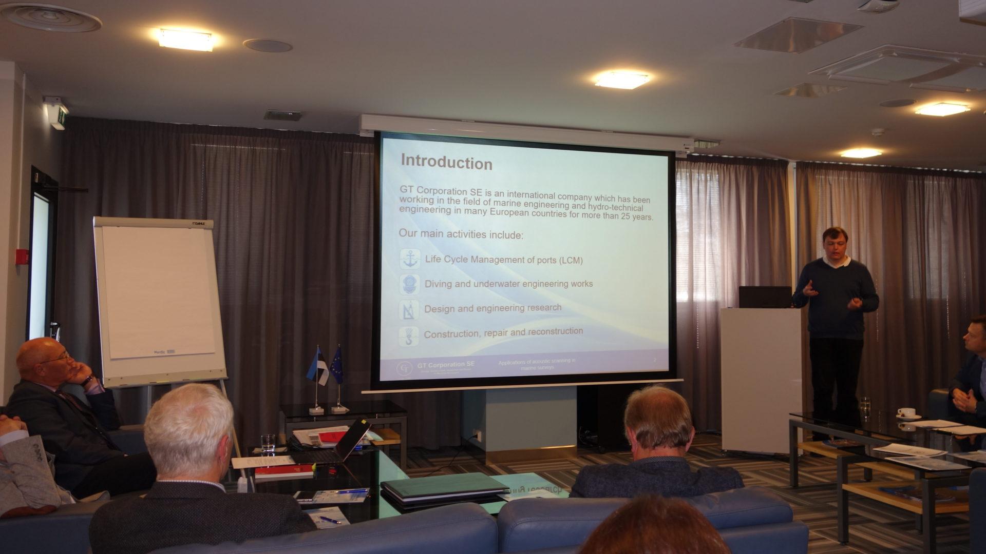 Presentation by Igor Burovenko, IT Coordinator at GT Corporation SE