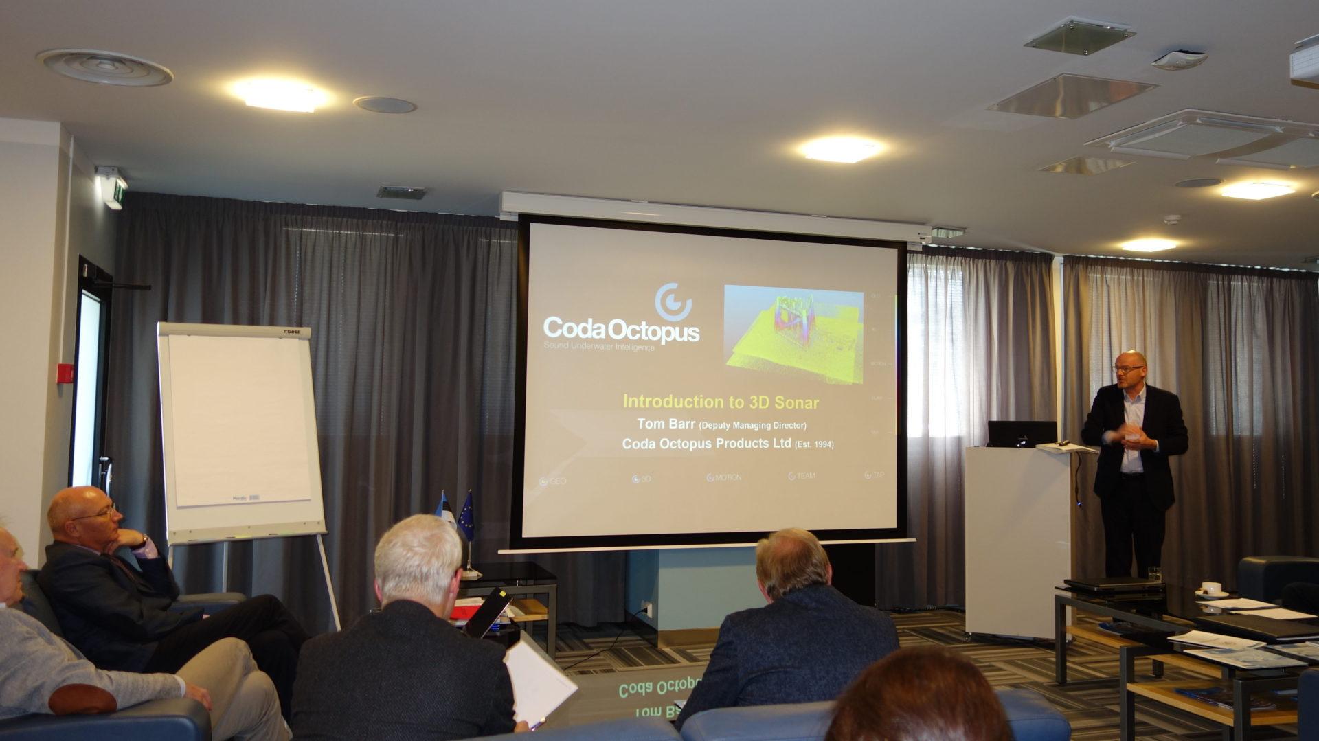 Presentation by Tom Barr, Deputy Managing Director, Coda Octopus Group Inc.