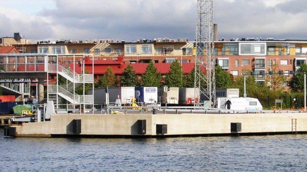 Piers EK6, EK7 of port Helsinki