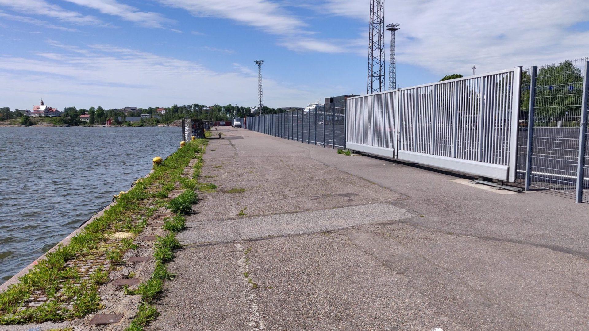 Pier ERB of port Helsinki
